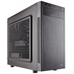 Corsair carbide series 88R + Windowed side panel , No psu , all black CC-9011086-WW