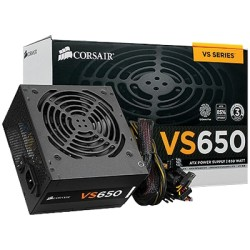 Corsair - 650w, Eps12V , ATX 12V V2.3 CP-9020098 / CP-9020098VS650