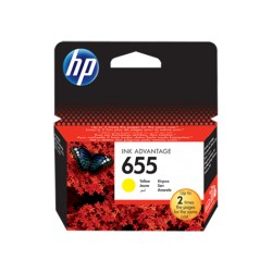 HP 655 Yellow ink (cz112ae)