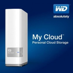 WD My Cloud 3TB, white+silver WDBCTL0030HWT