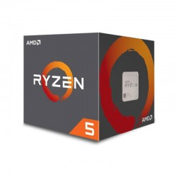 Amd  Ryzen R5 1400 - 4 cores / 8 threads 3.2ghz box cpu  / 3.4ghz turbo core Socket AM4