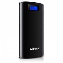 Adata AP20000D-DGT-5V-CBK P20000D blacK - powerbank with digital display for charging status + LED flashlight