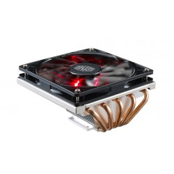 Coolermaster Geminii M5 CPU Heatsink with Black Fan with Red Led