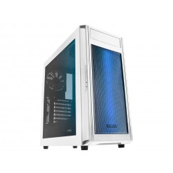 Raidmax Alpha Gaming Chassis RGB White / Window Side Panel / Supports 120mm or 140mm Cooling Fans