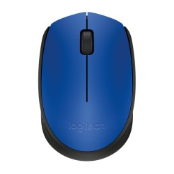 Logitech cordless notebook mouse Black & Blue 910-004640 M171