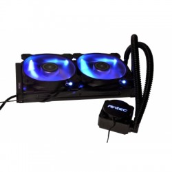 ANTEC H1200 PRO 240MM (RADIATOR LENGTH) BLUE LED CPU LIQUID COOLER