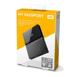 WD  my Passport 1Tb/1000gb Black 2.5 inch WDBYNN0010BBK