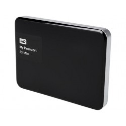 "WD My passport for Mac or pc 1TB/1000gb Black ( 2.5"" ) WDBJBS0010BSL / WDBFKF0010BBK"