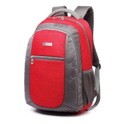 "CSD BLACK MSP1606RD Buzz 15.6"" Red Notebook Backpack"