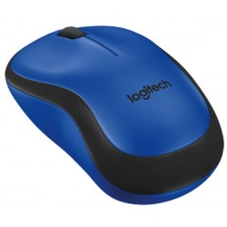 Logitech M220 Silent cordless notebook mouse Blue & Black