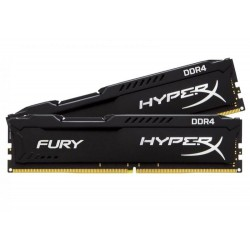 Kingston Hyper-X FURY 16Gb kit (2x 8Gb) DDR4-2666 ( pc4-21300) CL16 HX426C16FB2K2/16