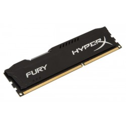 Kingston  Hyper-X FURY 4Gb DDR3-1333 CL9 Black HX313C9FB/4
