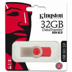 Kingston Flash Data Traveler DT101G3 32GB USB 3.0 Red