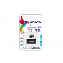 ADATA Premier 32Gb Micro SDHC 10-RoTGMBK  AUSDH32GUIiCL with usb/microusb flashdrive type card reader