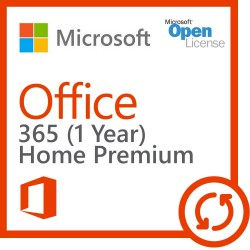 Microsoft Office 365 Home Premium ( for household PC / non-commerical use )
