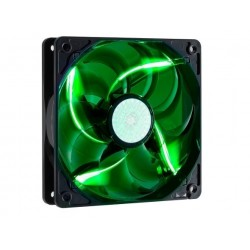 Coolermaster Sickleflow-X 120mm mounting Green LED Chassis Fan